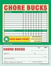 Chore Bucks, Pack of 26