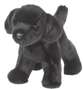 Bear Black Lab, Plush Dog