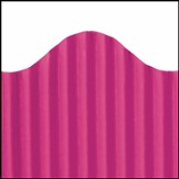 Corrugated Border Magenta