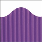 Corrugated Border Purple