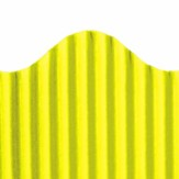 Corrugated Border Yellow