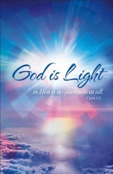God is Light (1 John 1:5) Bulletins, 100