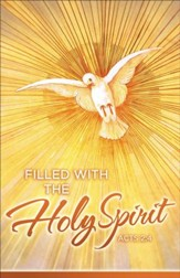 Holy Spirit (Acts 2:4) Confirmation Bulletins, 100