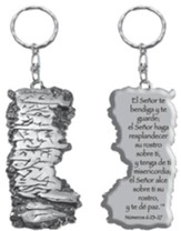 Aaronic Blessing Keychain, Spanish
