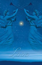 Christmas Angels Advent 4 Love, Pack of 100 Bulletins
