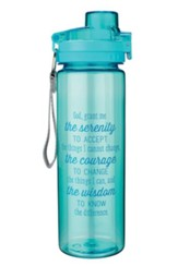 Serenity Prayer Water Bottle