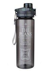 For I Know the Plans Water Bottle