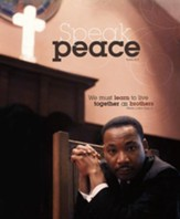 Speak Peace MLK, Jr., Pack of 100 Large Bulletins