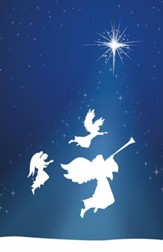 Silhouette Advent 3 Angels, Pack of 100 Bulletins