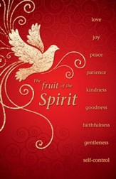 The Fruit Of The Spirit, Pack of 50 Bulletins