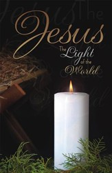 Jesus the Light of the World, Pack of 100 Bulletins