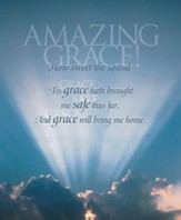 Amazing Grace, Pack of 100 Large Bulletins