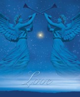 Christmas Angels Advent 4 Love, Pack of 100 Large Bulletins