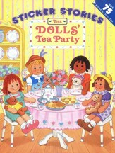 The Dolls' Tea Party with Sticker
