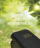 Seek Me Find Me Search for Me, Pack of 100 Large Bulletins