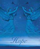Christmas Angels Advent 1 Hope, Pack of 100 Large Bulletins