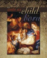 For Unto Us a Child Is Born, Pack of 100 Large Bulletins