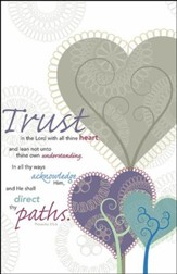 Trust in the Lord, Pack of 100 Bulletins