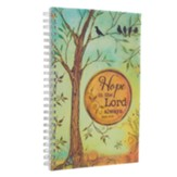 Hope In the Lord, Wirebound Notebook