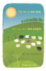 We Are the People of His Pasture, Pack of 100 Bulletins