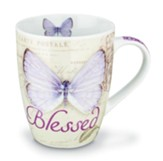 Blessed, Butterfly Mug