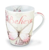 Believe, Butterfly Mug