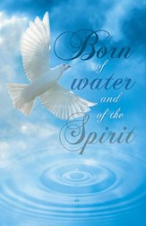 Dove Born of Water, Pack of 100 Bulletins