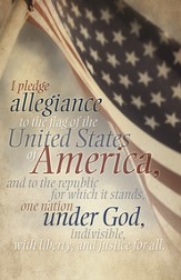 Pledge of Allegiance, Pack of 100 Bulletins