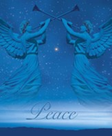 Christmas Angels Advent 2 Peace, Pack of 100 Large Bulletins
