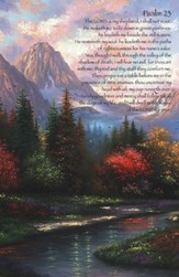 Psalm 23 Mountain Artwork, Pack of 100 Bulletins