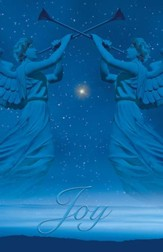 Christmas Angels Advent 3 Joy, Pack of 100 Bulletins