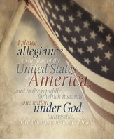 Pledge of Allegiance, Pack of 100 Large Bulletins