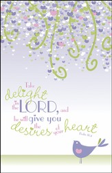 Take Delight in the Lord, Pack of 100 Bulletins