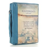 Footprints Bible Cover, Large