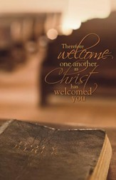 Welcome One Another, Pack of 100 Bulletins