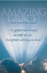 Amazing Grace Sunlight & Clouds Bulletins, 100