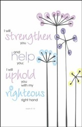 I Will Strengthen You and Help You, Pack of 100 Bulletins