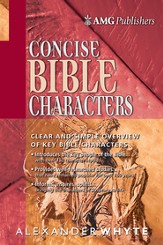 AMG Concise Bible Characters - eBook