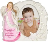 Angel Blessings Photo Frame, Girl