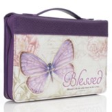 Blessed, Butterfly Bible Cover, Medium