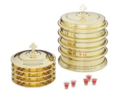 Solid Brass Communion Tray Base