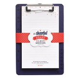 Cheerful Heart Clipboard with Notepad