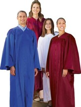 Choir Robe, Burgundy, Junior