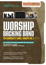 Worship Backing Band for Churches and Small Groups Volume 3