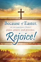 Because of Easter (1 John 5:4) Bulletins, 100