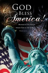 God Bless America (Psalm 33:12) Bulletins, 100