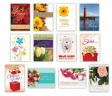 Secret Sister, Box of 12 Assorted All Occasion Cards (KJV/NIV)