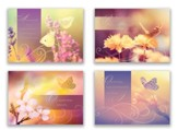 Heavenly Sunlight, Box of 12 Assorted Sympathy Cards (KJV)