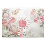 Floral Inspirations Paper Placemat Pack of 20