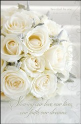 Sharing our Love (Ephesians 5:31) Wedding Bulletins, 100